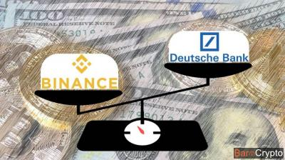 Rentabilité : Binance devance Deutsch Bank au premier trimestre 2018