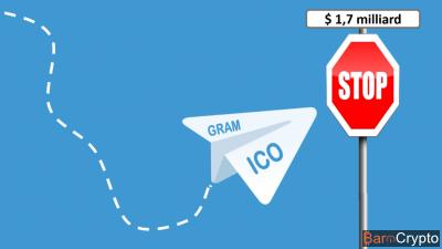 Clap de fin pour l'ICO Telegram, pas de levée de fonds publique !