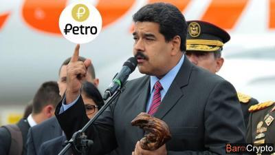 Venezuela : Maduro lance la banque des jeunes soutenue par le Petro