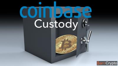 Coinbase Custody : lancement officiel du coffre-fort des institutions