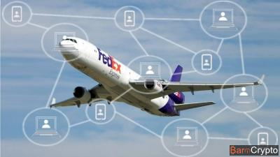 FedEx : le géant du fret aérien test des applications blockchain