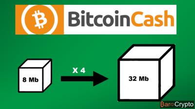 Mise à niveau de Bitcoin Cash : la taille de bloc est passée à 32 Mb