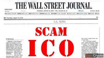 Scam : 20% des ICOs susceptibles d'être frauduleuses selon le WSJ
