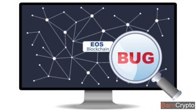 EOS : un chercheur découvre 12 bugs et obtient 120 000 $ de récompense