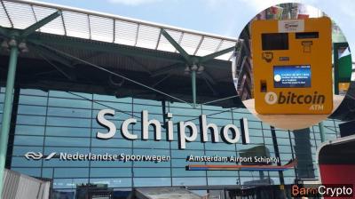Pays-Bas : L'aéroport Schiphol d'Amsterdam s'offre un Bitcoin ATM