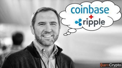 Pour le PDG de Ripple, Coinbase doit intégrer le XRP sur sa plateforme