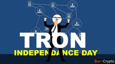 TRON : le mainnet Odyssey 2.0 activé, des tokens TRX distribués