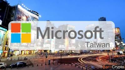 Microsoft s'allie avec 2 sociétés pour un projet blockchain à Taïwan