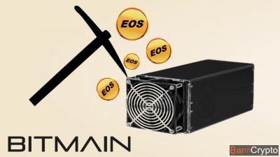 EOS blockchain : le géant Bitmain parmi les 21 super-nœuds du réseau