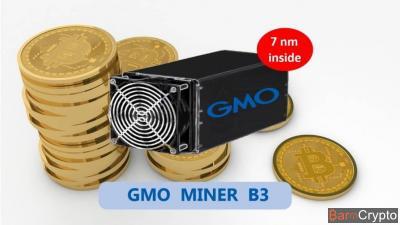 GMO : le géant de l'internet annonce son 2e ASIC Bitcoin, le Miner B3