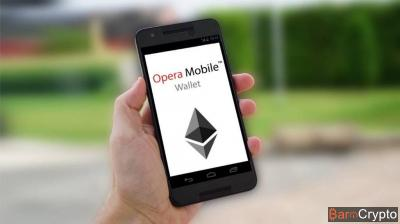 Opera Browser intègre un portefeuille crypto sur sa version mobile