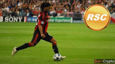 Football : Ronaldinho lance sa crypto RSC et prépare des stades VR