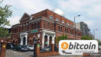 Aumône en Bitcoin : la mosquée UK récolte 14 000 £ en dons crypto