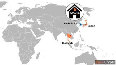 Bithumb se prépare à ouvrir des bureaux en Thaïlande et au Japon