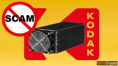 Scam : la SEC ferme une société proposant des ASICs Miner siglés Kodak
