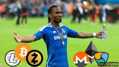 Après Ronaldinho, Didier Drogba rejoint lui aussi une startup crypto