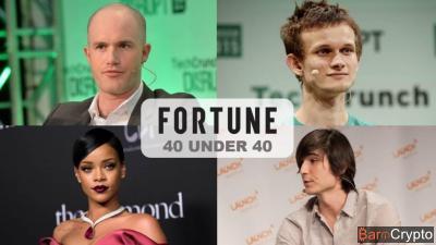 Brian Armstrong (Coinbase), 20e au classement 40 under 40 de Fortune