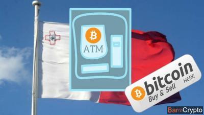Malte installe le tout premier Bitcoin ATM à 2 voies du pays à Sliema
