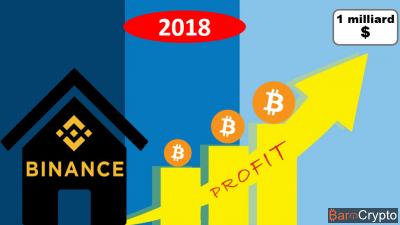 Binance vise un milliard de dollars de bénéfices pour cette année 2018