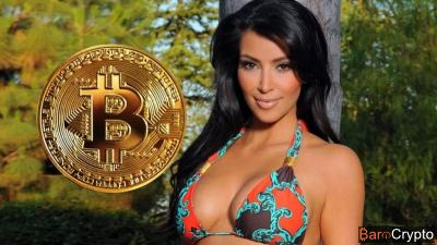 Kim Kardashian, l'épouse de Kanye West reçoit son tout premier Bitcoin