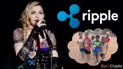 Ripple x Madonna : une levée de fonds en faveur des orphelins du Malaw