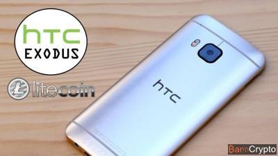 HTC Exodus, le smartphone blockchain supportera nativement le Litecoin
