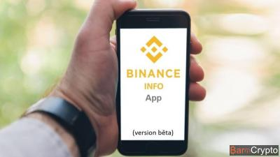 Binance Info App : l'application d'infos crypto lancée en version bêta