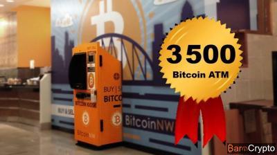 Bitcoin ATM : 3 500 machines sont installées dans plus de 70 pays