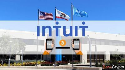 Envoyer des Bitcoins par SMS ? Ce sera bientôt possible grâce à Intuit