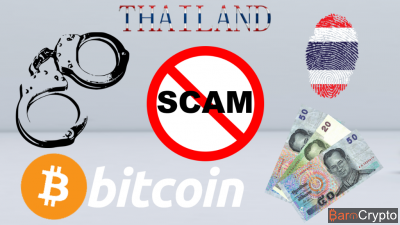 5 500 Bitcoins volés à un businessman via un Scam en Thaïlande
