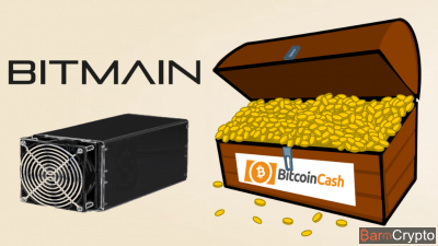 Bitmain détient 1 million de Bitcoin Cash, 6% des BCH en circulation