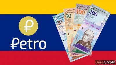 Petro (PTR) fixé à 60 dollars et nouveau bolivar lancé au Venezuela