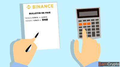 Cours BNB toujours aussi stable, Binance l'utilise pour ses salariés