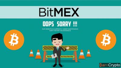 Cours Bitcoin propulsé à $6 800 au moment où BitMEX est hors connexion