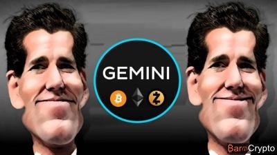 Gemini (Winklevoss) lance une équipe d'autorégulation avec 3 exchanges