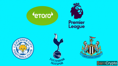 eToro collabore avec des clubs de foot anglais et les paie en Bitcoin