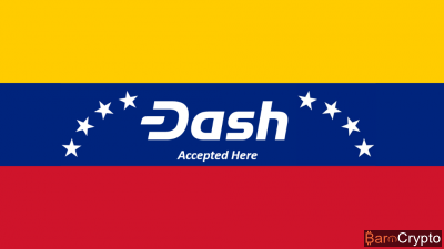 Le cours du DASH chute encore malgré une adoption massive au Venezuela