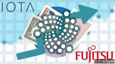 Cours IOTA à +20% suite à l'annonce de partenariat avec Fujitsu !