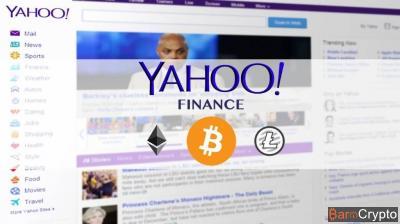 Le Bitcoin repasse au vert et Yahoo l'ajoute sur son portail Finance