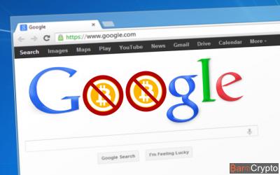 Google bannit les pubs sur le Bitcoin !