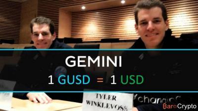 Les Winklevoss lancent le Gemini Dollar (GUSD), un stablecoin solvable
