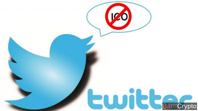 C'est officiel : les pubs sur les ICO sont bannies de Twitter !
