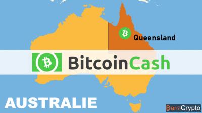 Bitcoin Cash : cours BCH à la traine, adoption massive en Australie