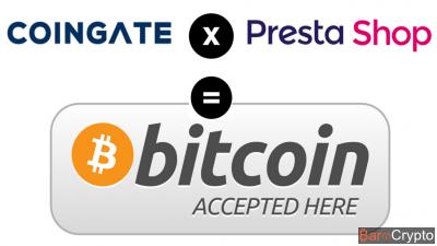 Coingate X Prestashop : 80 000 boutiques pourront accepter le bitcoin