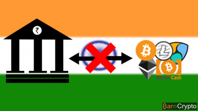 Inde : la RBI interdit les transactions crypto au niveau des banques