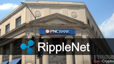 Cours XRP en feu à $0,037, pendant que PNC rejoint le réseau RippleNet