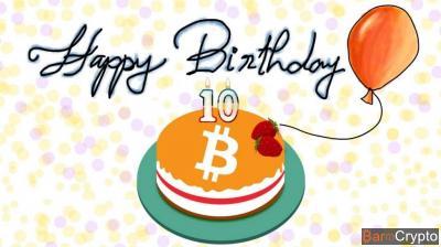 Le BTC remonte à $6 500, son 10e anniversaire bientôt célébré à Paris