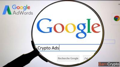 Google réautorise les Crypto Ads, le cryptojacking en hausse de 86%